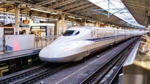 Fuld fart på japanske tog